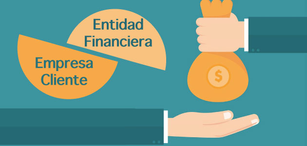 El confirming y el papel de la entidad financiera y la empresa cliente en este contrato