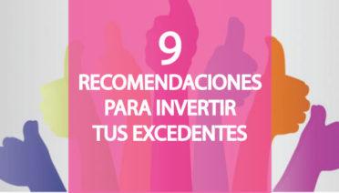 Te doy 9 recomendaciones para que inviertas y saques partido a tus excedentes en tesorería