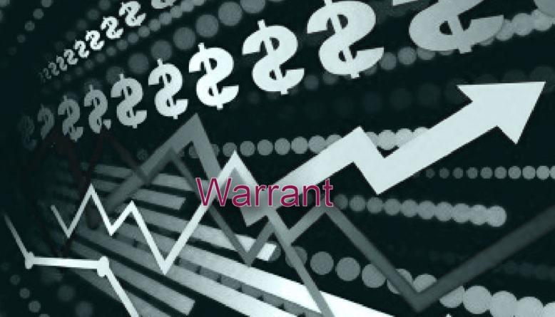 warrant definición