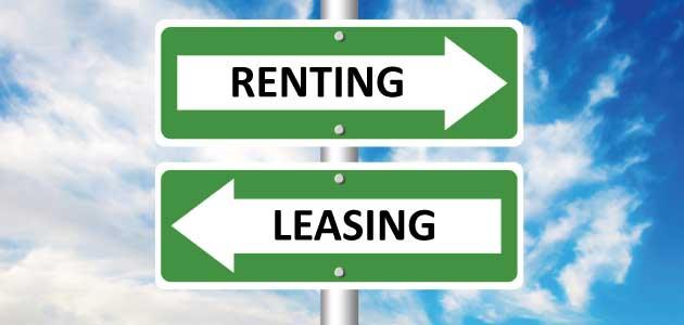 Renting vs leasing, explicación de cada uno, deferencias y similitudes